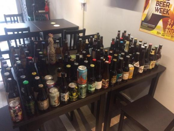 Bières bouteilles Paris 9